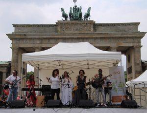 Wo/men´s Peace March in Berlin
