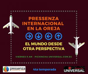 Pressenza Internacional En la Oreja 15/06/2018