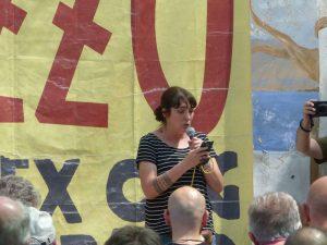 """Viola Carofalo, Potere al Popolo!: """"Bene le dichiarazioni contro la Legge Sicurezza di Salvini, ma servono i fatti!"""""""