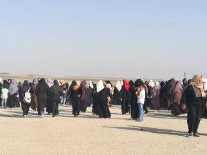 GAZA Marcia delle donne per il diritto al ritorno