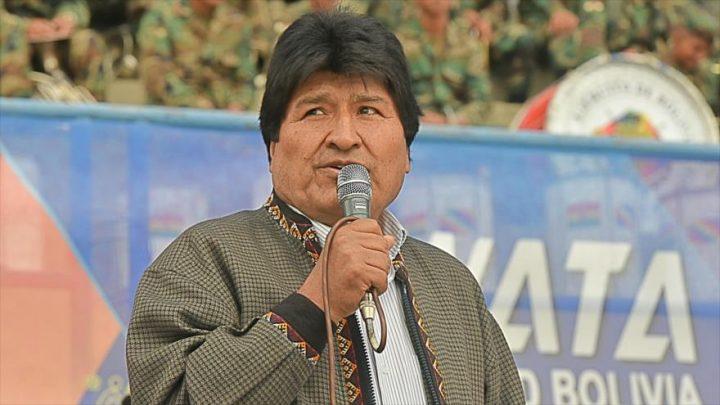 Morales rechaza arremetida golpista de EEUU contra Venezuela