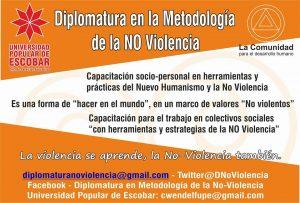 La formación en la no violencia me pone en situación de reflexionar