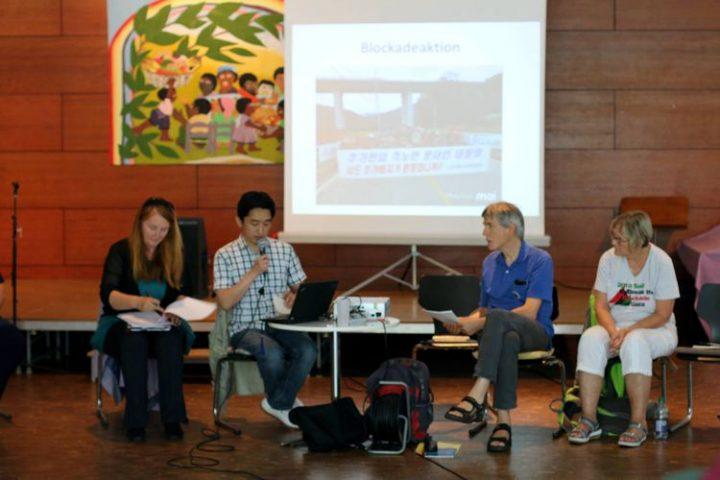 Internationales Treffen gegen ausländische Militärbasen: Kriege stoppen, nicht die Flüchtlinge