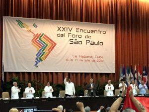 """24. Forum von Sao Paulo in Havanna: """"Neoliberales Auslaufmodell sucht Zuflucht in Kriegen"""""""