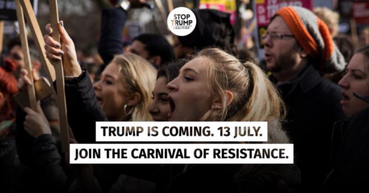 Η κυβέρνηση του Ηνωμένου Βασιλείου προετοιμάζεται για τις διαμαρτυρίες κατά του Τραμπ σαν να πρόκειται να «καεί το Λονδίνο»