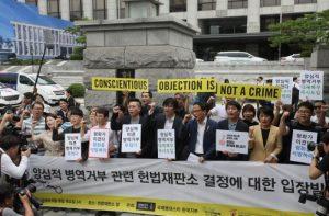 Seoul, per la prima volta la Corte suprema libera un obiettore di coscienza