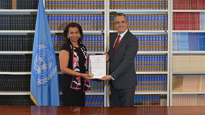 Costa Rica, the 11th country to ratify the Treaty on the Prohibition of Nuclear Weapons