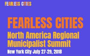 Encuentro «Fearless Cities» en Norte América