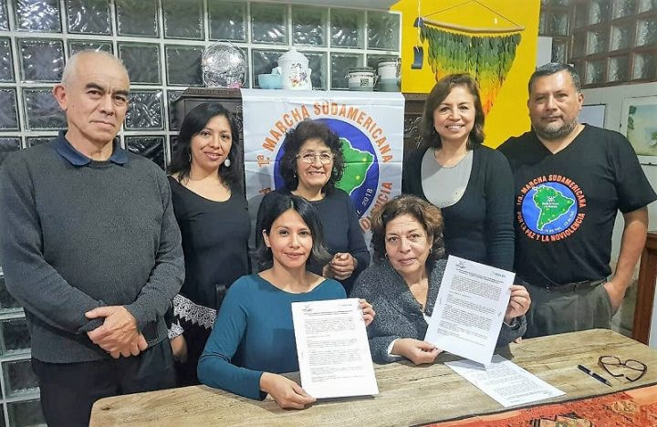 Mundo sin Guerras y COPEHU Perú firman acuerdo convenio por la paz y la noviolencia