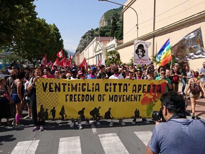 Más de 5.000 personas reclaman un permiso de residencia europeo en Ventimiglia