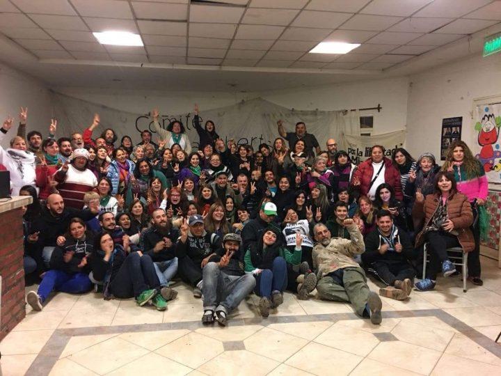 Desagravio por la usurpación de la sede central de la Tupac Amaru en San Salvador de Jujuy