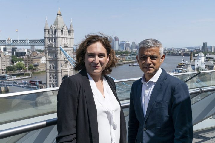 Barcelona y Londres se alían contra la gentrificación