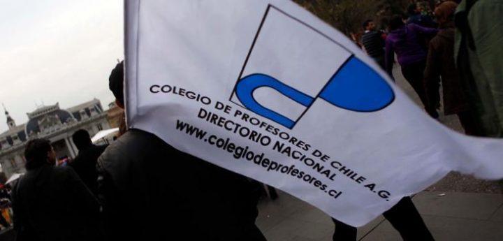 """Colegio de Profesores de Chile anuncia un """"plan de movilización creciente"""" para el segundo semestre"""