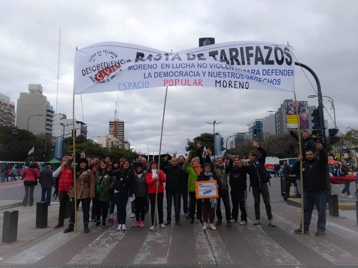 Desobediencia civil NoViolenta ante los tarifazos. Alejandro Roger en «Regional y Popular»
