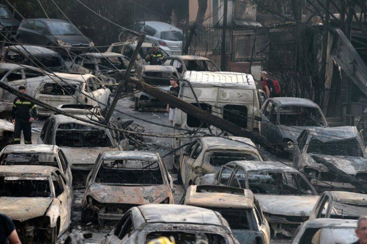 ΚΕΕΡΦΑ: Ξεχείλισε η ανθρωπιά ντόπιων και μεταναστών στο μεγάλο κίνημα αλληλεγγύης για τους πυρόπληκτους
