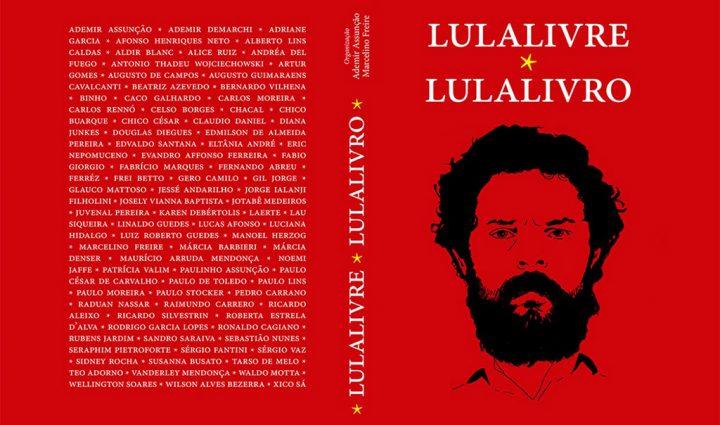 Antologia 'Lula Livro' reúne textos e desenhos contra a prisão do ex-presidente