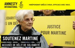 Amnesty: oggi in Francia una pensionata rischia il carcere per aver provato compassione