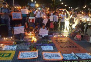 'Velatón' en Barcelona por los líderes sociales asesinados en Colombia