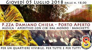 Milano, Piazzale Damiano Chiesa porto aperto