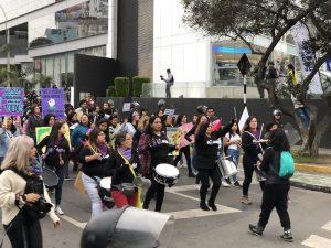 Marcha NiUnaMenos en Lima: «Mujeres y justicia»