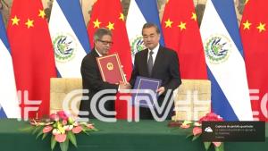 China y El Salvador establecen relaciones diplomáticas