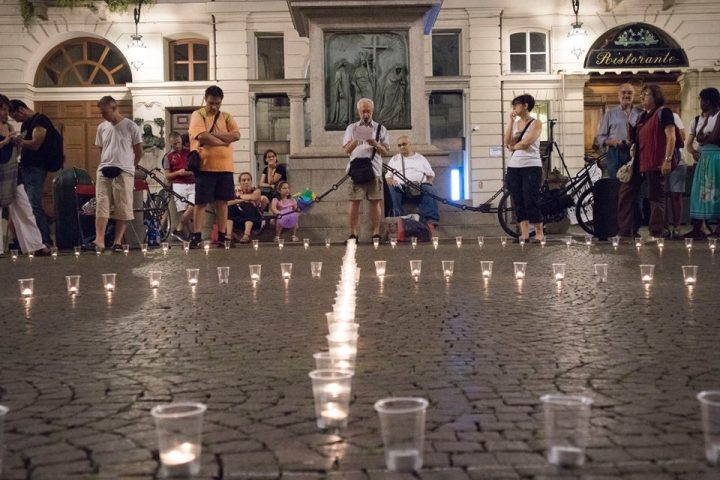 Mai più Hiroshima e Nagasaki – Torino 5 Agosto 2018 Piazza Carignano