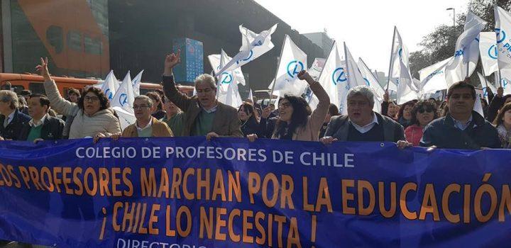 Chile: Nunca más sin los profesores