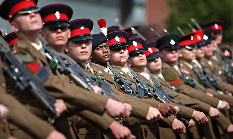 [UK] Alarm over involvement of children at Armed Forces Day events