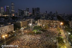 Tens of thousands of Palestinians and Jews protest Nation-State Law