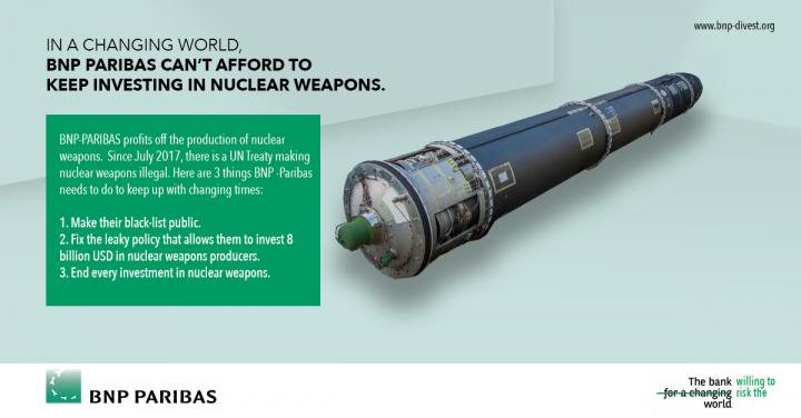 Les armes nucléaires sont terrifiantes, mais que pouvons-nous faire ?