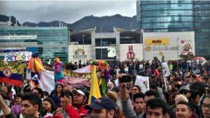 Colombie, marches pour la vie et pour la paix