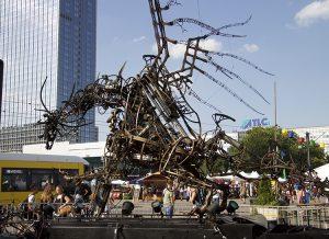 Dragones en Alexanderplatz