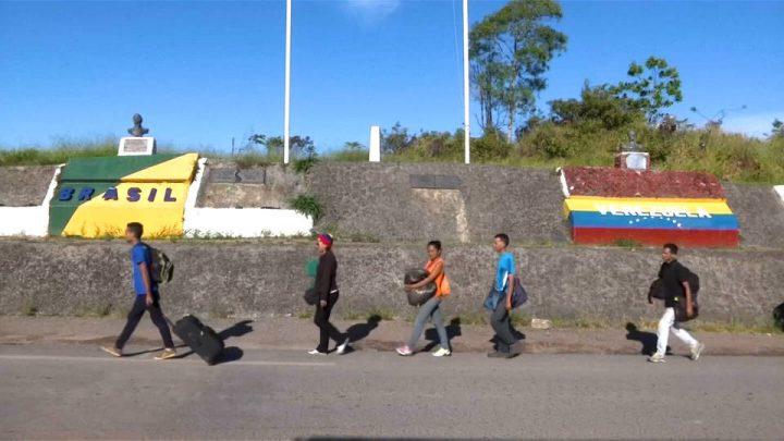 Brasil envía tropas a la frontera con Venezuela ante el aumento de la crisis de refugiados