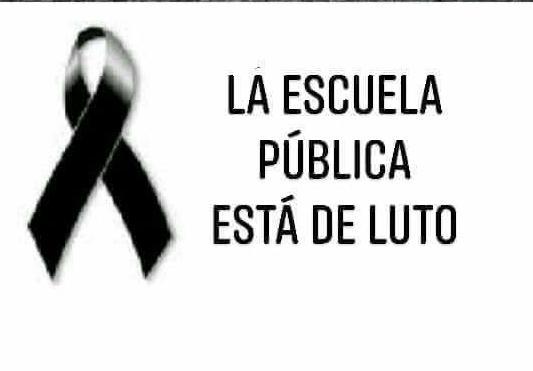 Comunicado de Copehu-Argentina: La Educación Pública está de luto