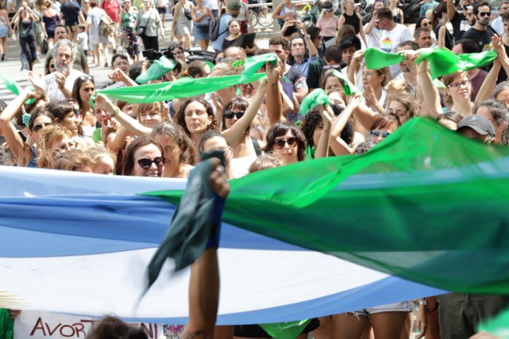 Apoyo a la legalización del aborto en Argentina