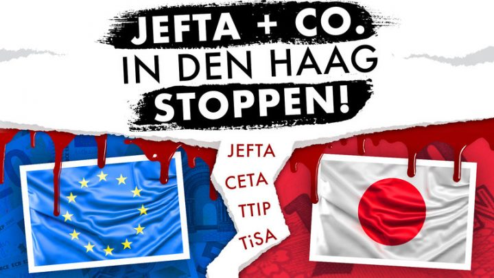 UN-Hilfsorganisationen: JEFTA & Co. in Den Haag stoppen