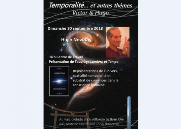 Présentation du livre «Lumière et temps», un voyage mental dans les profondeurs du Cosmos