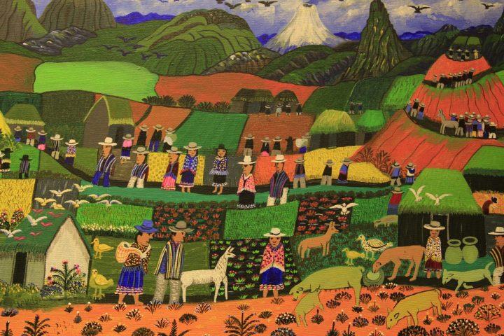 Montañas de flores y bosques, la pintura del maestro Juan Luis Millingalli