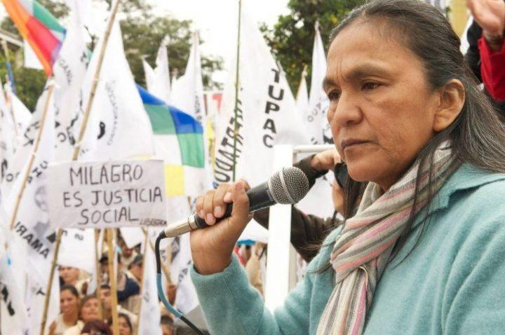 """Milagro Sala di nuovo in carcere """"è una misura assolutamente arbitraria"""" dichiara il Comitato per la Libertà della dirigente"""
