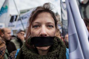 Censura en el Senado: las acreditaciones de los medios populares para el #8A fueron rechazadas