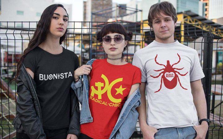 Razzismo, arriva la maglietta per vantarsi di essere radical chic