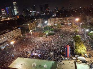 Manifestazione a Tel Aviv contro Israele Stato nazionale degli ebrei