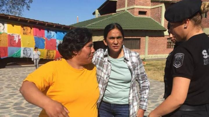Milagro Sala kehrt in den Hausarrest zurück, aber ins falsche Haus, zum dritten Mal