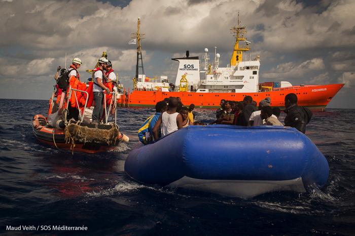 El Aquarius recibe permiso para desembarcar en La Valetta