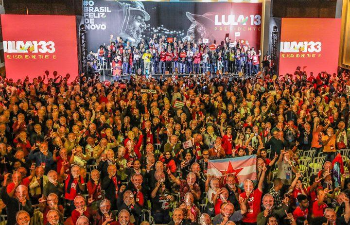 Convención del PT confirma candidatura de Lula. Su carta desde la cárcel