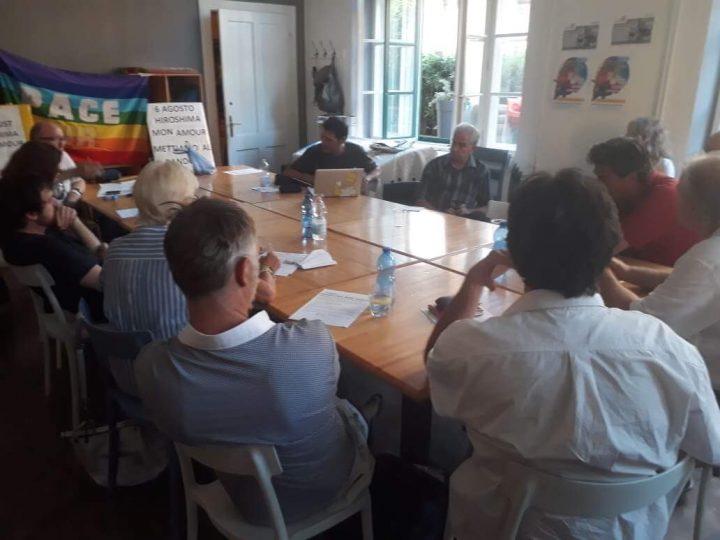 6 Agosto. l'iniziativa a Trieste