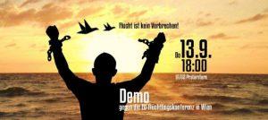 Aufruf! Demo gegen die EU-Flüchtlingskonferenz in Wien