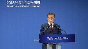 Moon discutirá con Trump cómo poner fin a la Guerra de Corea