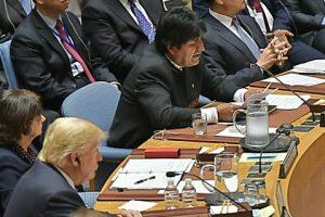 Presidente boliviano convoca a ratificar y poner en efecto inmediato acuerdos para el desarme nuclear