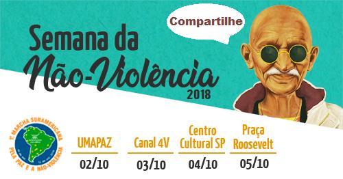 Semana da Não Violência 2018